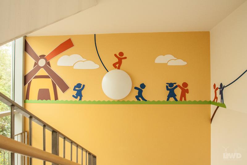 Kreative wandgestaltung lwd l ssig werbung dresden - Wandgestaltung kinder ...