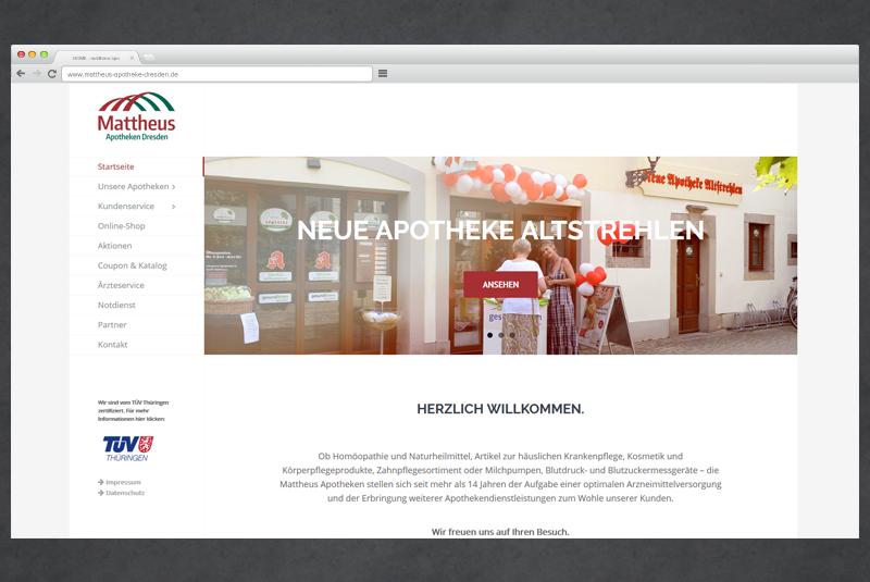 Website mattheus-apotheke-dresden.de