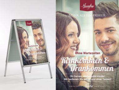Plakat & Plakatständer / Kundenstopper